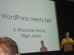 WordPress meets SAP